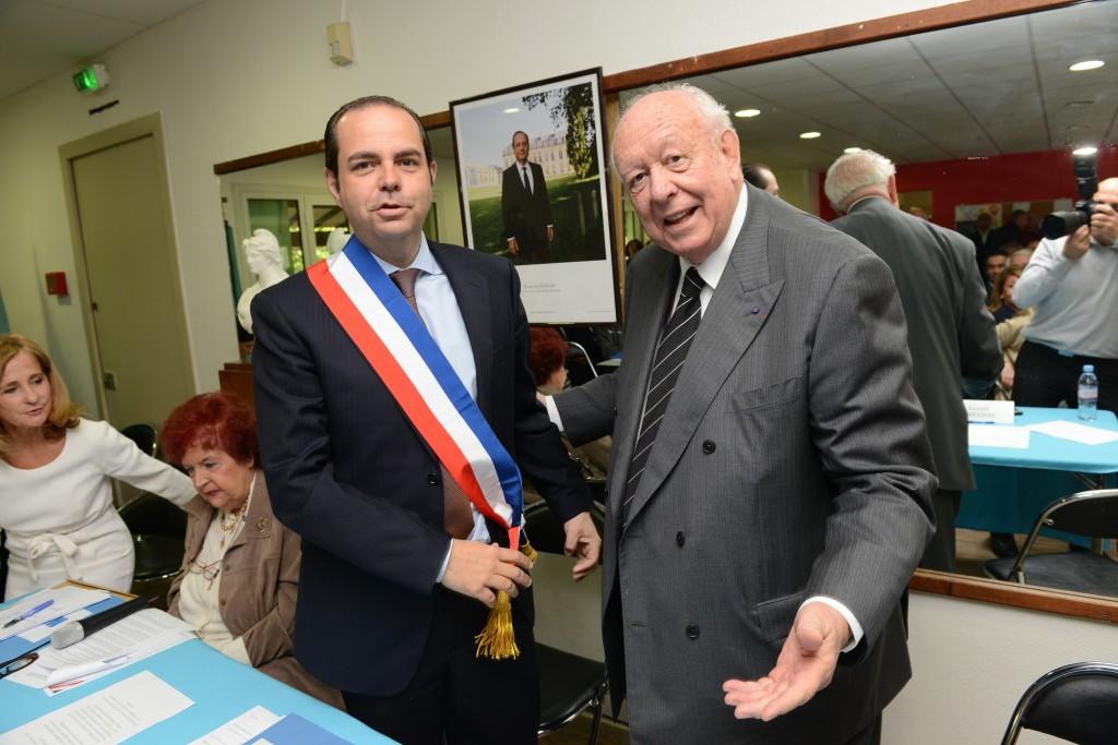 Yves Moraine aux côtés de Jean-Claude Gaudin